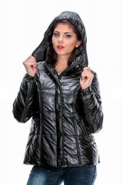 veste doudoune courte doudoune manche courte femme noir. Black Bedroom Furniture Sets. Home Design Ideas